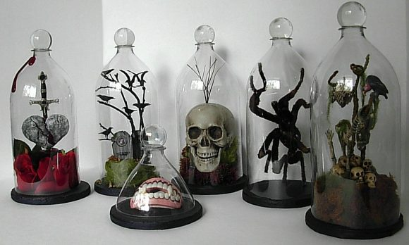 Make soda bottle bell jars (via dollarstorecrafts.com)