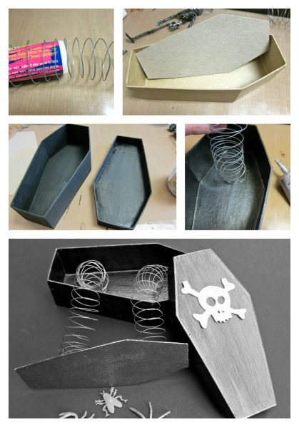 instructions for trick coffin box