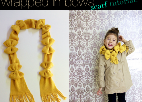 Make a Wrapped in Bows Scarf (via dollarstorecrafts.com)