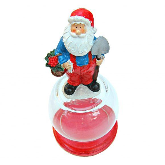 DIY Santa cloche (via dollarstorecrafts.com)