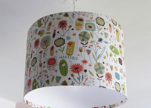 Make a hanging lamp shade from scratch (via dollarstorecrafts.com)