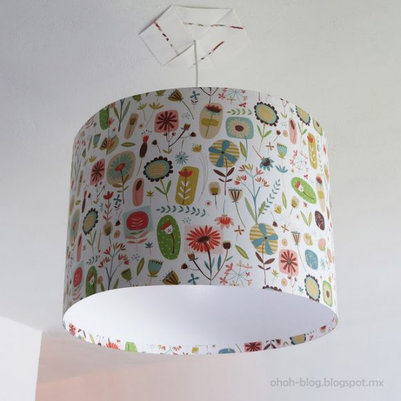 Make A Hanging Lamp Shade From Scratch Dollar Store Crafts