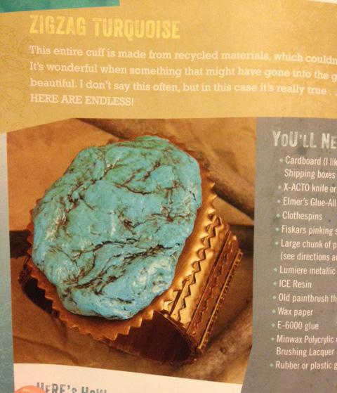 fake turquoise bracelet