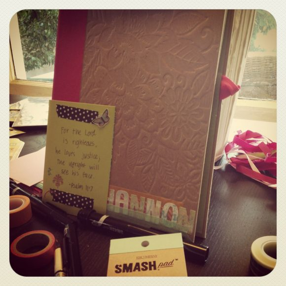 smash book bridal shower