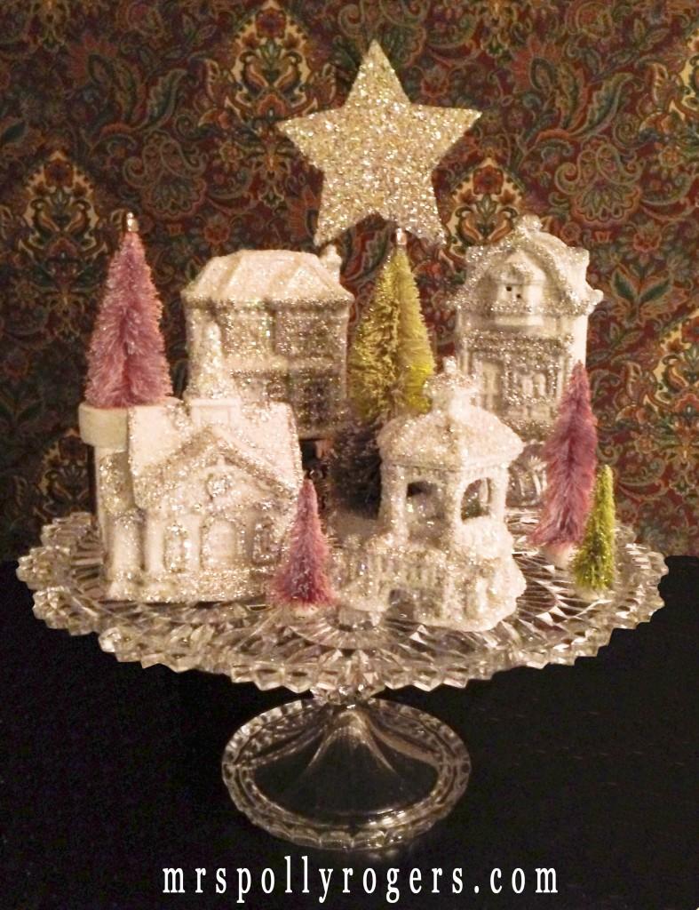 Make a Dollar Store Christmas Village » Dollar Store Crafts
