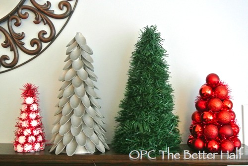 christmas crafts make decorative trees four different ways