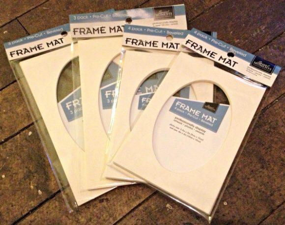 frame mats