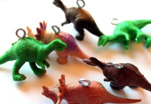dinosaur ornament eye hooks
