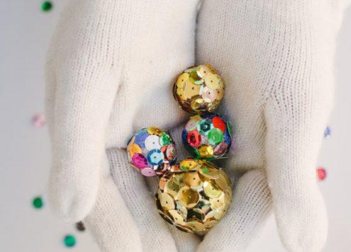 Make Mini Disco Balls (via dollarstorecrafts.com)