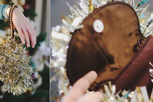 Make a Tinsel Purse (via dollarstorecrafts.com)