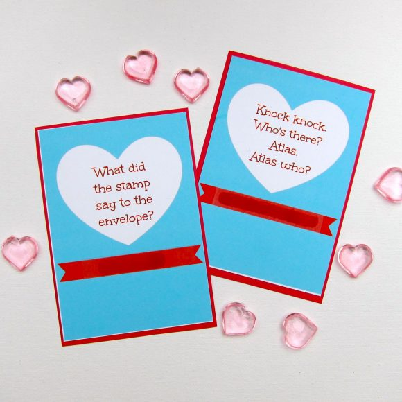 DIY Valentine Scratch Cards