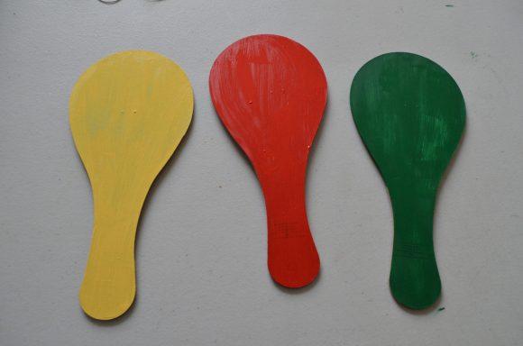 Tutorial: Red Light Green Light Game Paddles