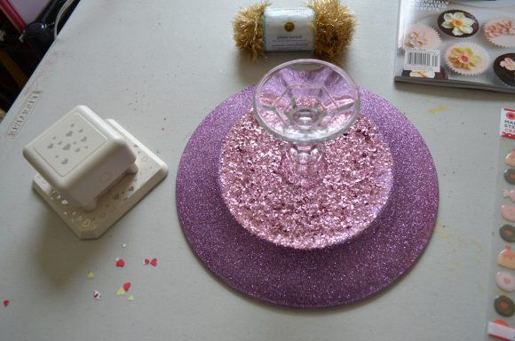 Tutorial: Glitter Serving Plate
