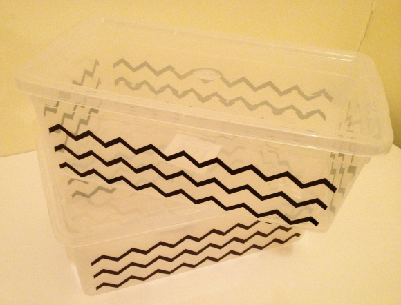 DIY Removable Storage Labels (and more storage and organization tips)
