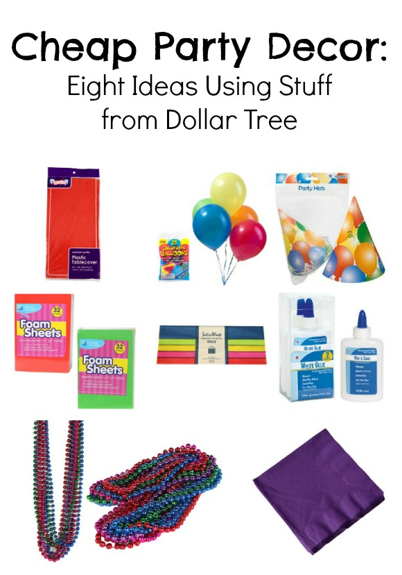 Dollar Store Party Decor: 8 Ideas Using Stuff from Dollar Tree