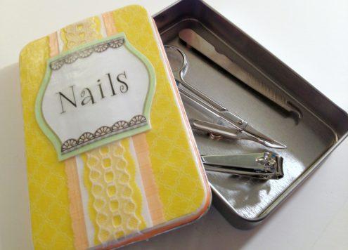 Tutorial: Make a manicure gift set