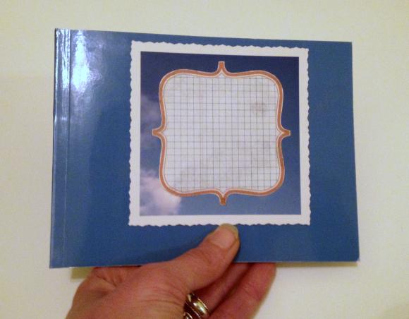 Tutorial: DIY custom journal from a blank photo book