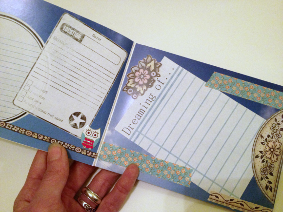 Tutorial: DIY custom journal from a blank photo book