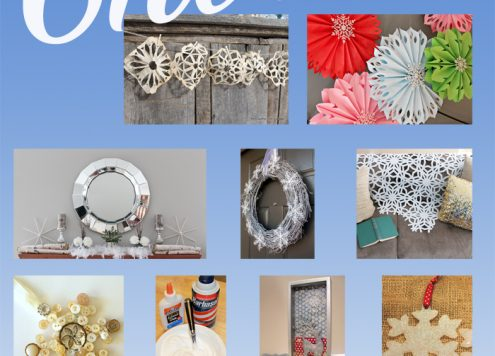 Let It Snow: Over a dozen snow-related craft ideas