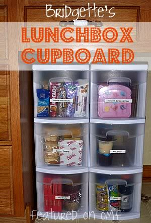 Lunch box storage