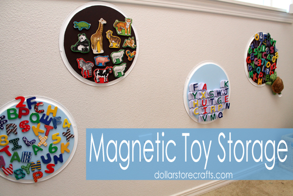 magnetic toy storage