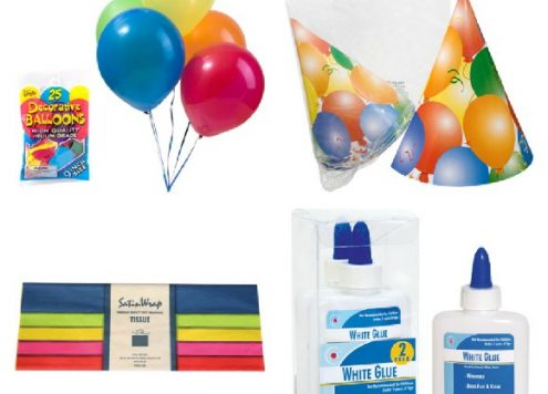 party decor ideas from the dollar store