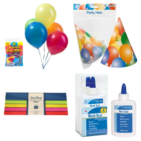 Party Decor Ideas From The Dollar Store Balloons