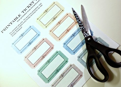 Free printable ticket tags (via dollarstorecrafts.com)