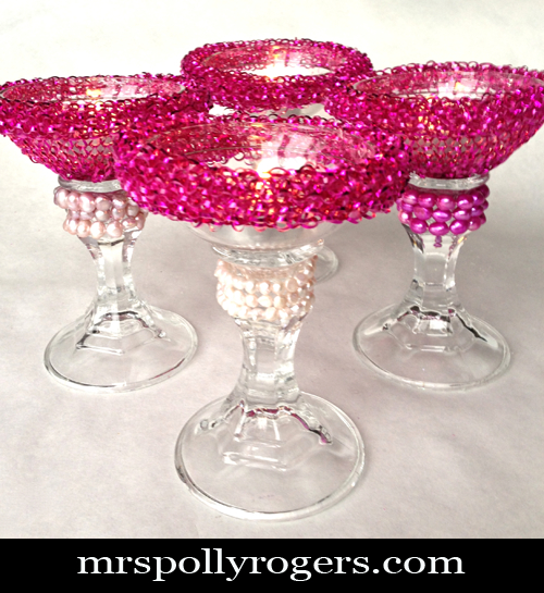 Make Scrubby Valentine Votives