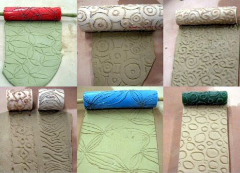 Make a Textured Clay Roller