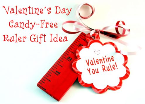 Make Ruler Valentine Gifts