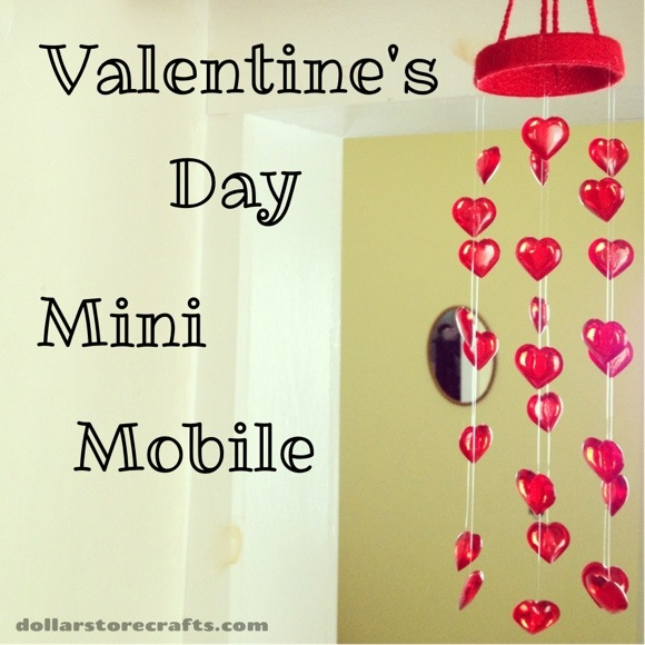 Tutorial: Valentine's Day Mini Mobile