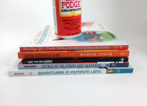 5 craft books from DollarStoreCrafts.com