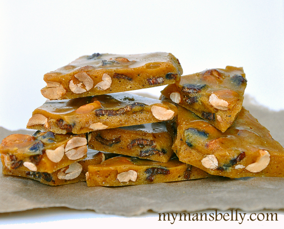 Bacon Peanut Brittle by My Man's Belly (pictured above) - Bacon, bacon ...