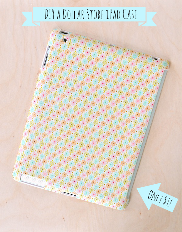 Make A Fabric Covered Ipad Case 187 Dollar Store Crafts