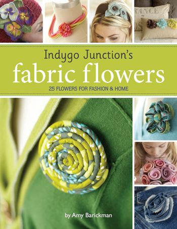 Giveaway: Indygo Junction's Fabric Flowers