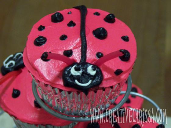 Ladybug Lovebug Cupcakes