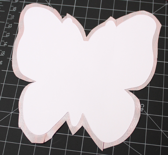 trim duct tape butterfly