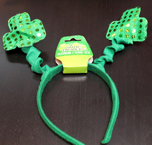Saint Patrick's Day headband