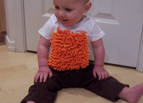 Make a Baby Cleaning Crew Shirt