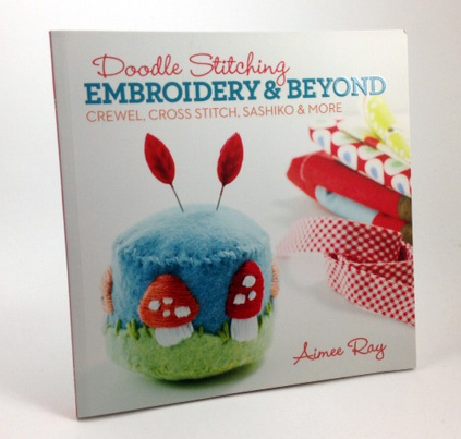 Doodle Stitching, Embroidery and Beyond