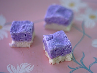 Cocomut Cube Candies