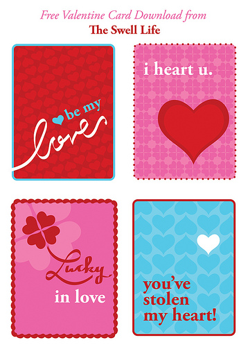 10 Free Printable Valentine Greetings