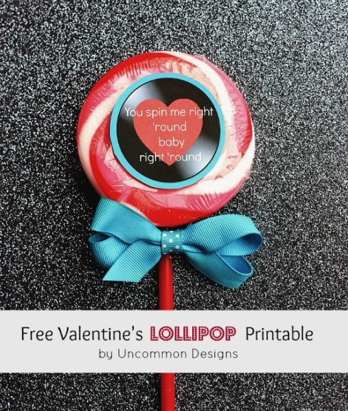 Free Pirntables: 10 Clever Valentine Greetings