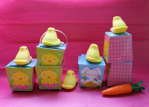 What to do with leftover Peeps -- Angry Peeps Game -- Dollar Store Crafts!