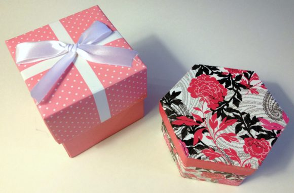 Tutorial:  Washi Tape Gift Boxes
