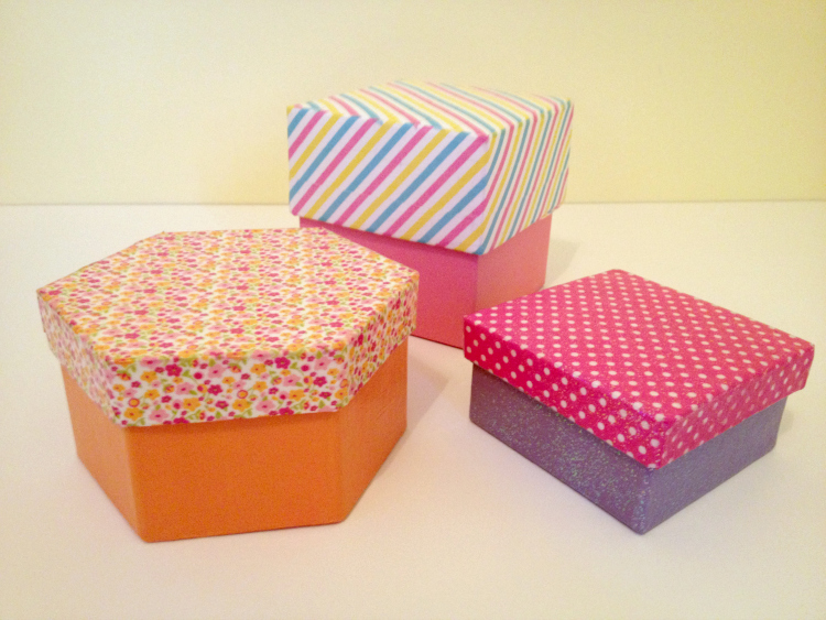 Michaels Favor Boxes With Lids : Tutorial washi tape gift boxes ? dollar store crafts
