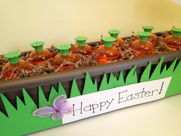 Tutorial: Carrot Garden Easter Favors