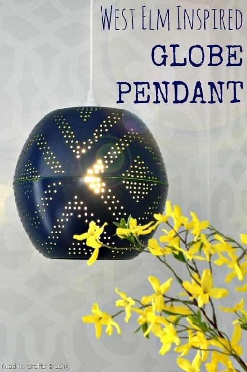Designer Inspired Globe Pendant Light