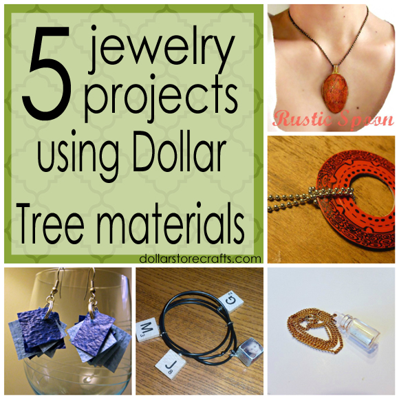 dollar tree arts and crafts five jewelry projects using dollar tree materials 187 dollar 12130